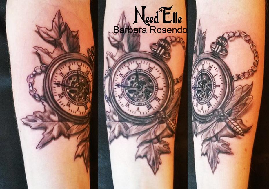Barbara rosendo sa passion elle la vit 100 - Montre gousset tatouage ...