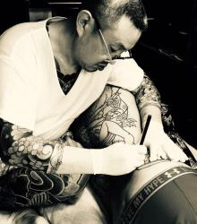 honda_tsuyoshi_tatoueur_japonais_convention_tatouage_france
