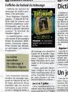 la Montagne - Le Festival du tatouage de Chaudes-Aigues, son affiche.