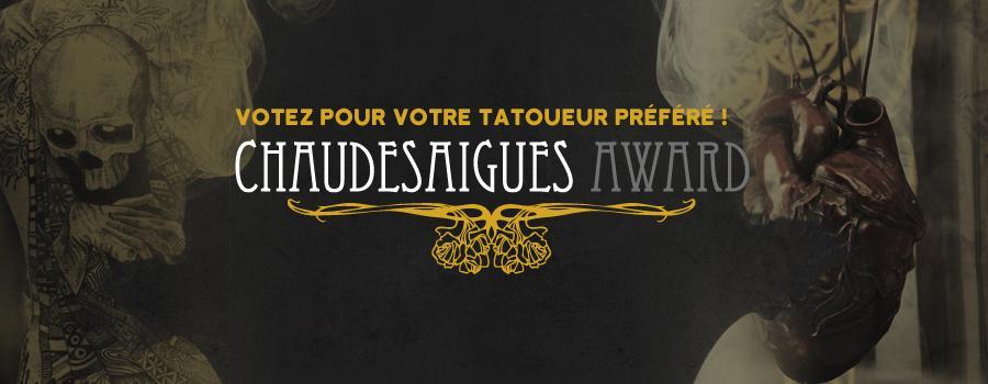 Avec le Chaudesaigues Award, c'est vous qui élisez votre tatoueur favori du Cantal Ink