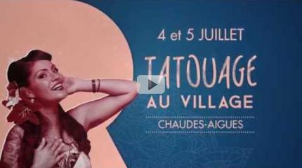 Tatouage au Village, ça commence le 4 juillet !