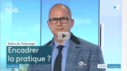 21 septembre 2018 : l'intervention de Stéphane Chaudesaigues sur France 3 Auvergne